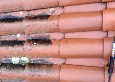 Démoussage toiture Saint-Chamond