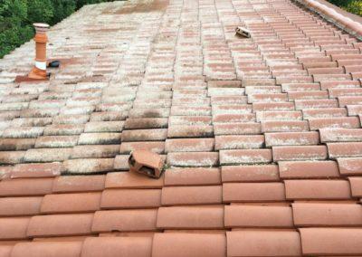 Nettoyage toit Saint-Romain-en-Gier
