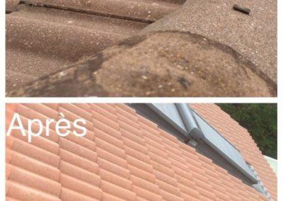 Démoussage toiture à Saint-Chamond