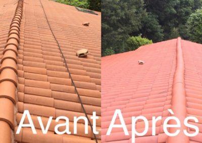 Démoussage toiture à Loire-sur-Rhône